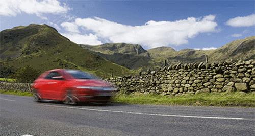 Lake District travel by car