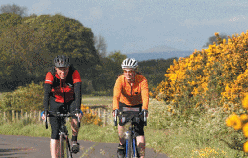 Cardurnock Peninsula cycling