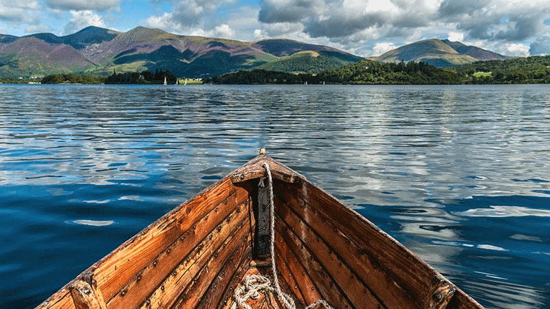 Cruise Derwentwater in the Lake District