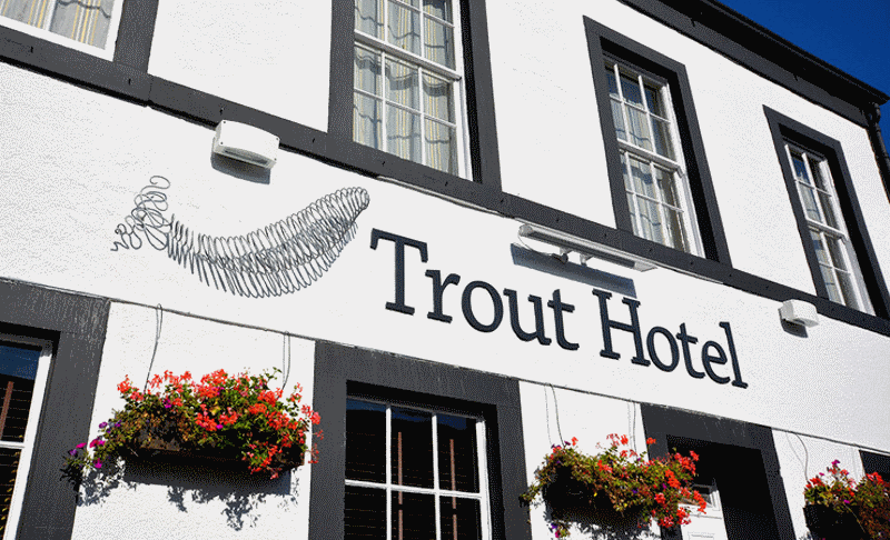 Derwent Restaurant at the Trout Hotel Cockermouth