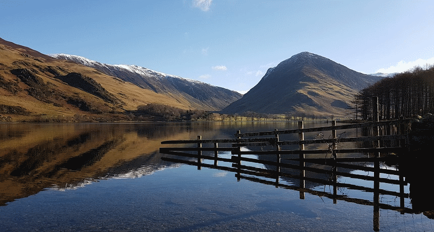 Walking around Buttermere in the Lake District