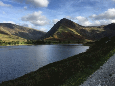 Beautiful Buttermere in the Lake District National Park