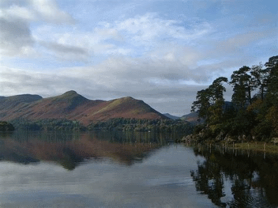 The Catbells in the Lake District