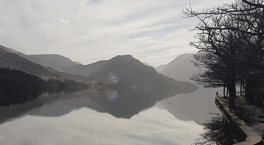 Misty morning in the Lake District