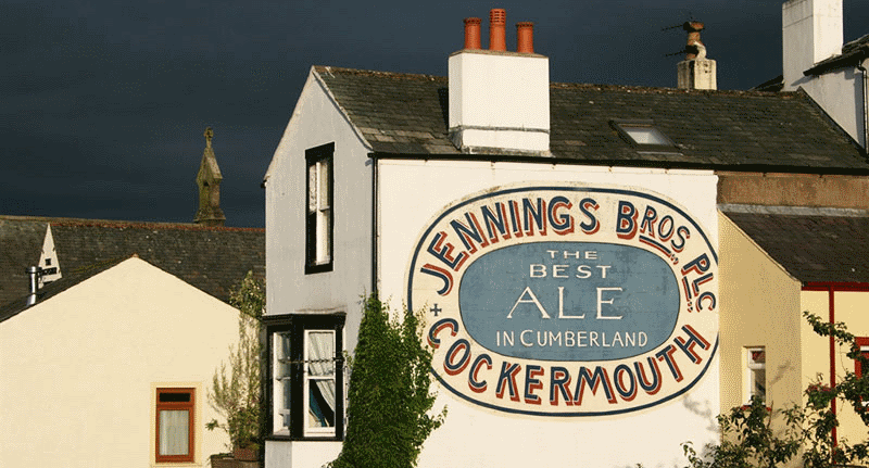 Jennings Brewery in Cockermouth Allerdale