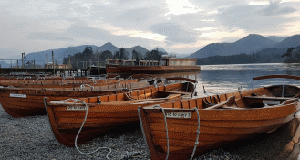 Keswick in the Lake District boat hire
