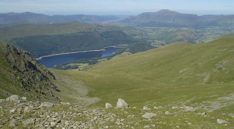 Helvellyn-Thirlmere in the Lake District