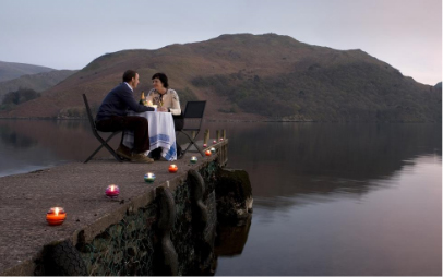Lake District romantic dining