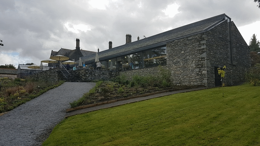 Lingholm Kitchen and walled garden