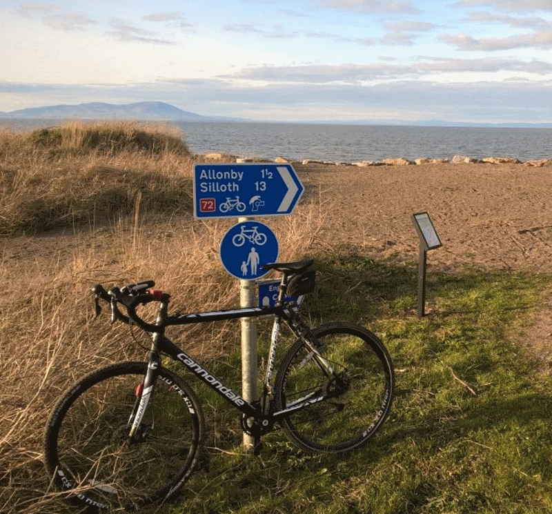 Cycling in Silloth on the Solway Coast