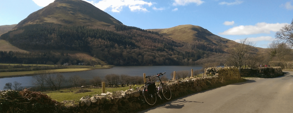 Road cycling routes in the Lake District