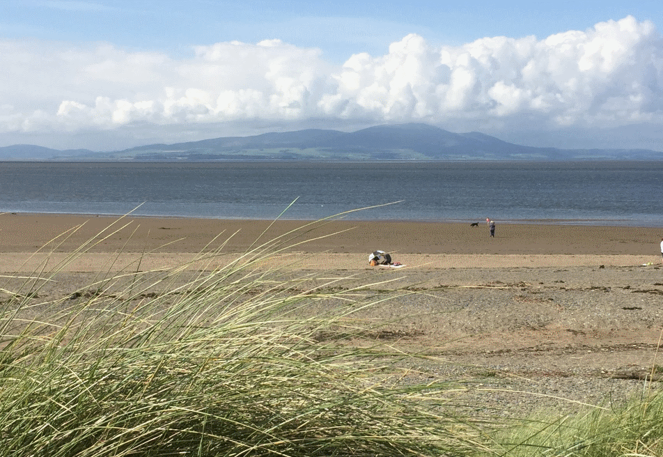 Silloth beach in Allerdale