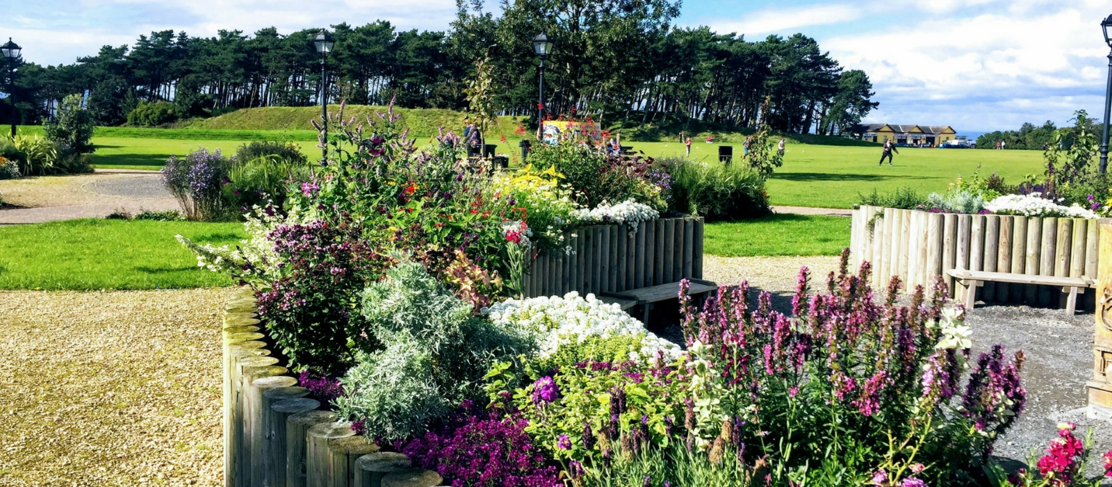 Silloth village green gardens