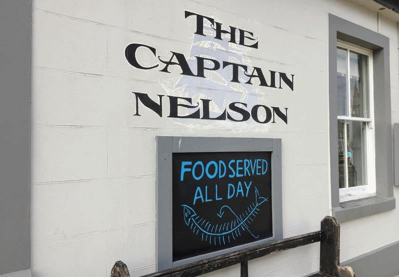 The Captain Nelson pub Maryport