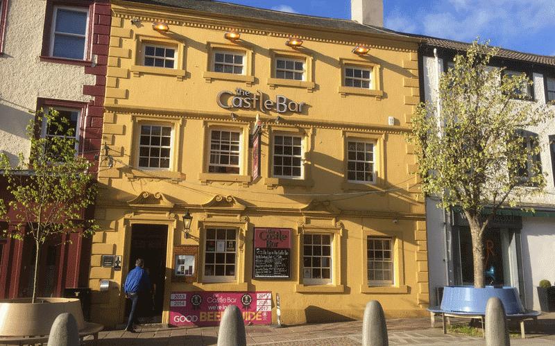 The castle bar pub Cockermouth