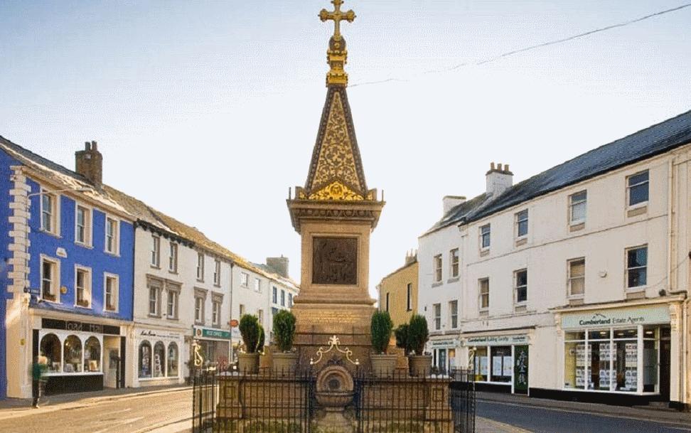 Wigton town centre
