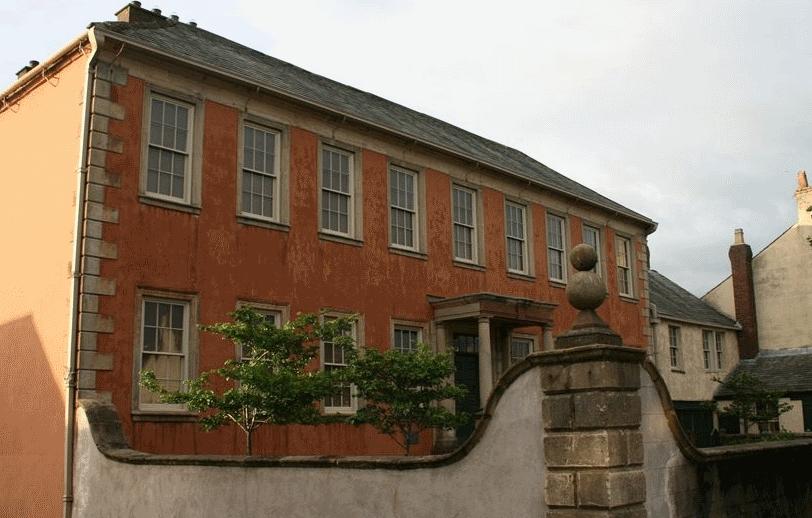 Wordsworth House and garden Cockermouth