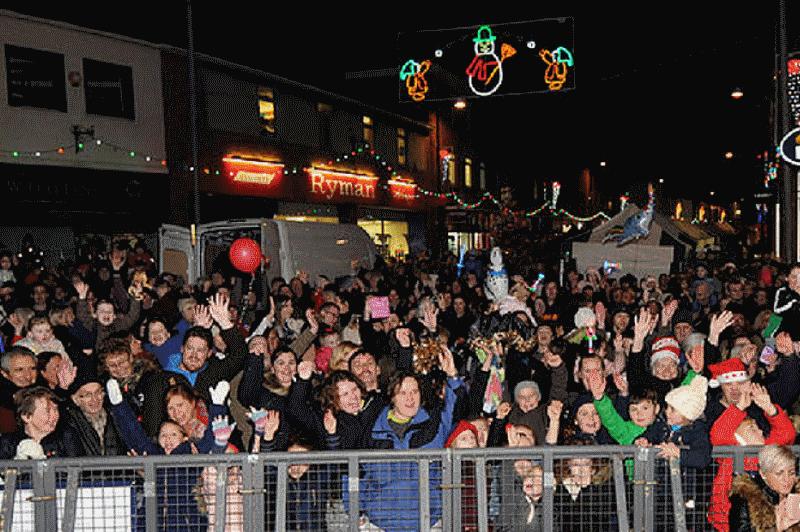 Workington christmas festival Allerdale