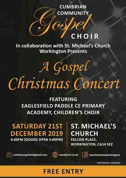Gospel Christmas Concert 2019