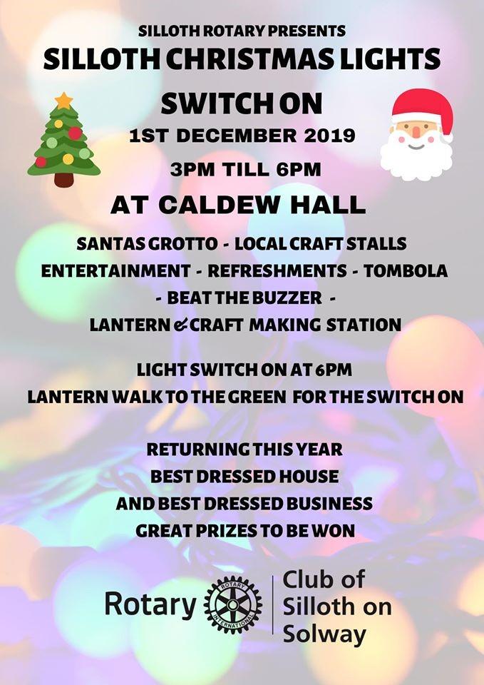 Silloth Christmas poster