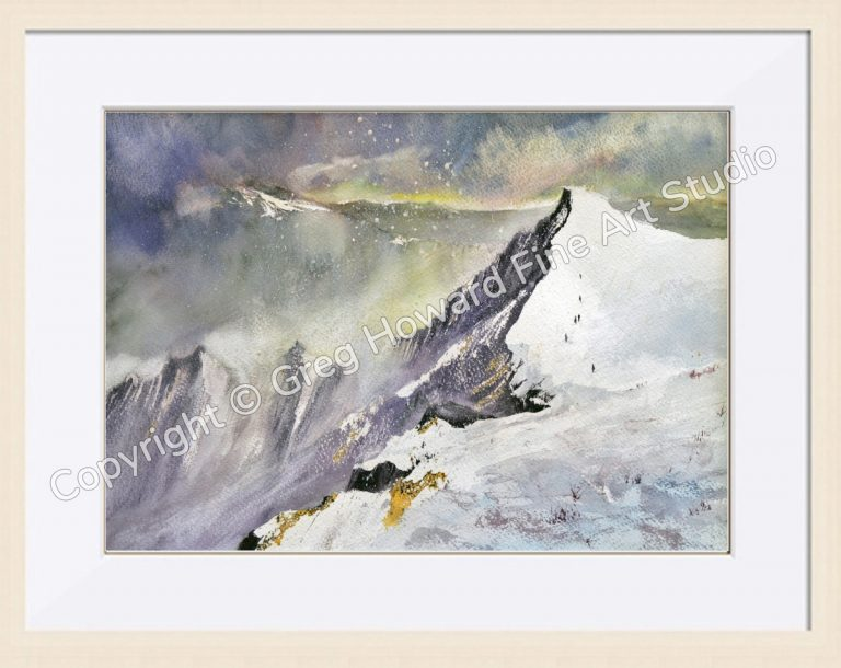 Sharp Edge Blencathra Cumbria - Framed-1a6732cf