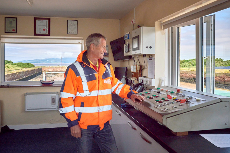 harbourmaster at work