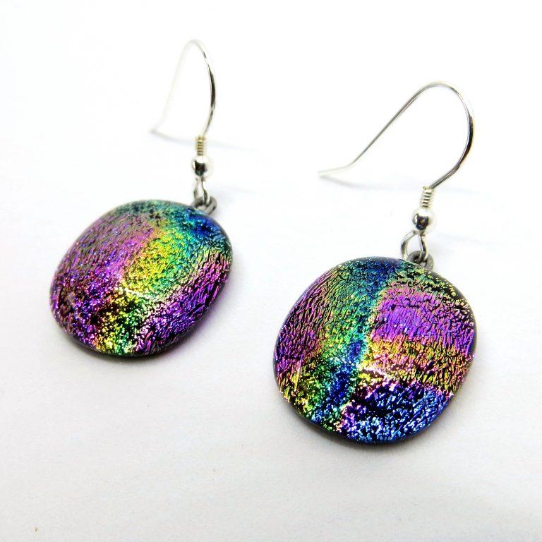 Dichroic glass earrings (2)-8b783c97